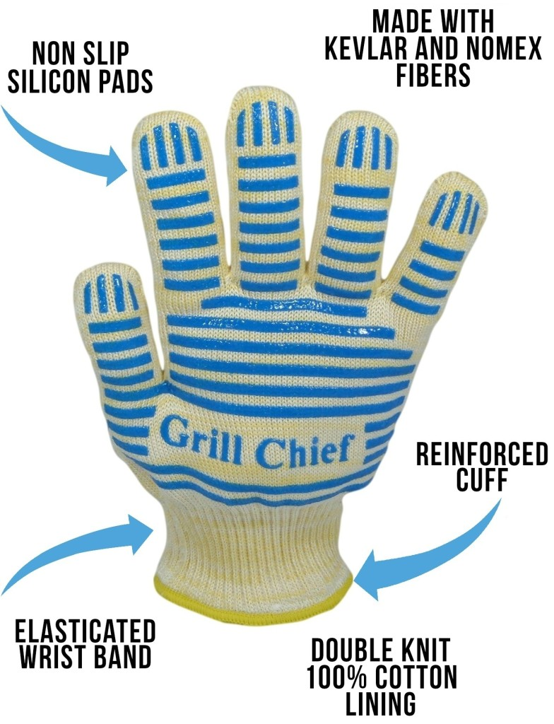 Grill Chief Gloves Diagram