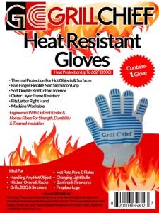 Heat Resistant Gloves - One Glove